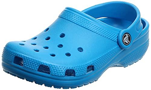 Crocs Classic Clog K Unisex Niños Zuecos, Azul (Ocean), 27/28 EU