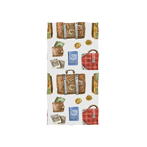 Montoj Reisetasche für Reisepass, Malerei, Waschlappen mit hoher Saugfähigkeit