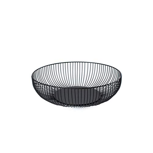 WINOMO Fruit Basket Iron Fruit Bow Vegetable Storage Basket Snack Plate for Kitchen Living Room and Home Decorative