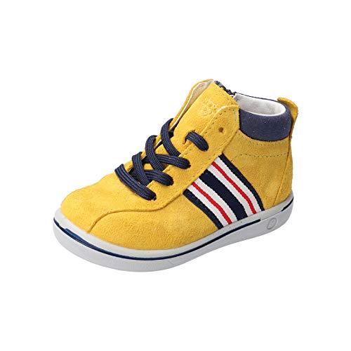 RICOSTA Pepino garçon Bottes, Boots Johnny, Gamin Chaussures bébé,Chaussure à Lacets,Bottes à Lacets,léger,Normale (WMS),Gelb,28 EU / 10 Child UK