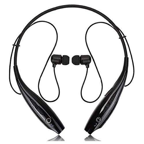 Wireless Bluetooth for LG G4c Sports Headset with Super Extra Bass Magnetic Earbuds Neckband Qualcomm Chipset Neckband and Up to 6H Playback - Black