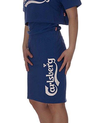 Carlsberg Gonna in Felpina Cotone Rasato CBD1630 Made in Italy Royal, M MainApps