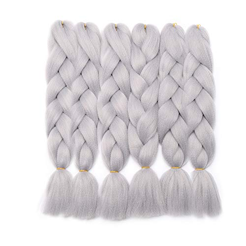 Extensiones cabello trenzado Trenzas falsas trenzadas