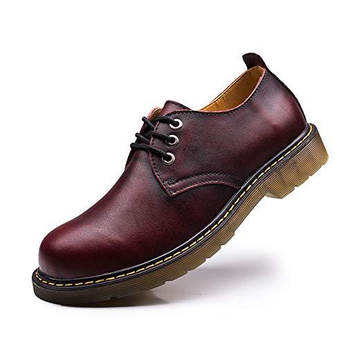 Heren leren schoenen, gereedschapsschoenen, rundvlees peesbodem met grote schoenen - Europese lente en zomer casual schoenen