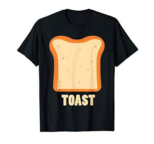 Toast Bread Breakfast Costume Cute Easy Food Halloween Gift T-Shirt