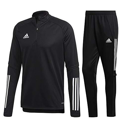 adidas Condivo 20 Trainingsanzug Herren schwarz weiß Gr XXL