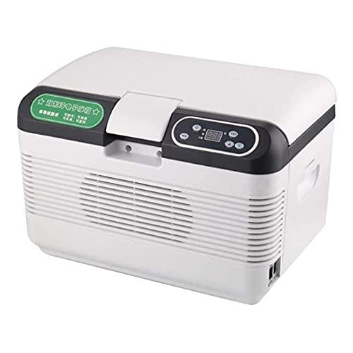 ELXSZJ XTZJ 13 QT 12 Volt Refrigerador, congelador de refrigerador portátil, DC 12 / 24V, refrigerador de automóvil para Viajes, Camping, Viaje por Carretera