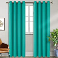 BGment Blackout Curtains - Grommet Thermal Insulated Room Darkening Bedroom and Living Room Curtain, 2 Panels