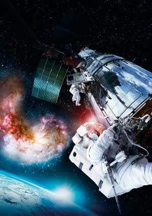IMAX Hubble 3D – Movie Wall Poster Print – A4 Size Plakat Größe