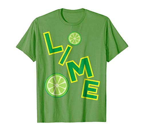 Lime Salt Tequila Halloween Costume T Shirt Group Matching