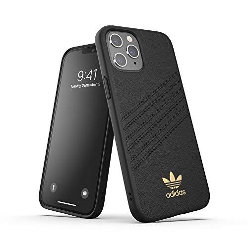 adidas Coque conçue pour iPhone 12 Pro Max 6.7, Coque résistante aux Chutes, Bords surélevés, Coque moulée Originale de qualité supérieure, Noire