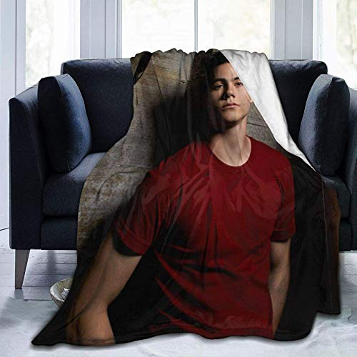 VJSDIUD Teen Wolf Throw Blankets, Ligera, Lujosa, cálida y acogedora, Manta de Felpa para Cama, sofá, Sala de Estar, 60 'x 50'