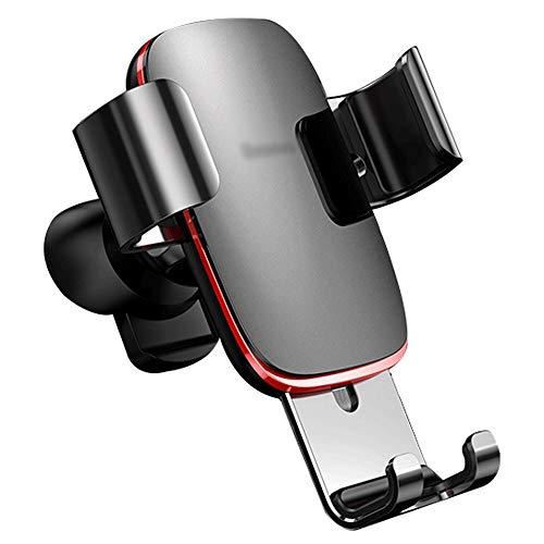 Télefono Cunas Soporte for coche Teléfono - soporte for teléfono Salida de aire Gravedad Universal de tipo universal de cuatro colores Negro Rojo Gris Plata Opcional mini forma de la aleación for crea