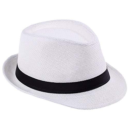 TYMDM zonnehoed mode zomer stro mannen zon hoeden pet strand pet Panama hoed Sombrero reizen zonnehoed
