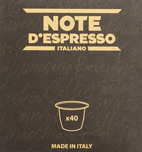 Note D'Espresso Infuso ai Frutti di Bosco in Capsule - 120 g (40 x 3 g)