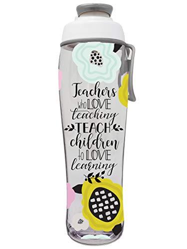 Teacher Water Bottle - BPA Free - Christmas Gift for Teachers - Give...