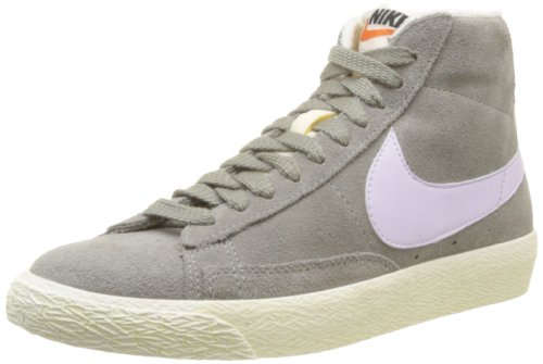 Nike, WMNS Blazer Mid Suede VNTG, Sneaker, Donna, Grigio (Canyon Grey/Violet Frost), 40
