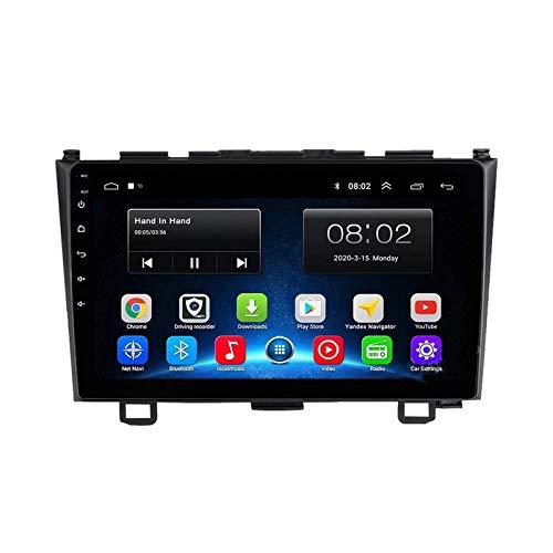 Android 10.0 Autoradio Sat Nav Radio per Honda CRV 2007-2011 Navigazione GPS 9 '' Unità principale Touchscreen MP5 Lettore multimediale Ricevitore video con 4G WiFi SWC Carplay