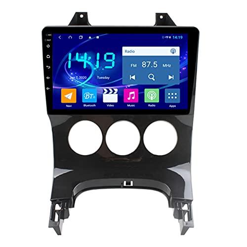 4G RAM 2.5D IPS 8 Core Android 10 Reproductor multimedia de DVD para automóvil GPS para Peugeot 3008 2011-2016, navegación por radio de audio, manos libres Bluetooth,Manual