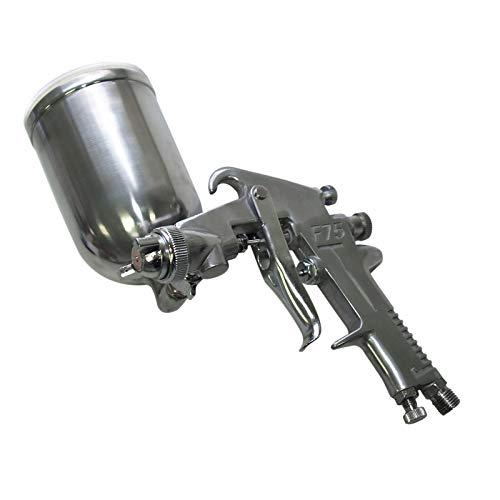 Wiltec HVLP Lackierpistole Spritzpistole Sprühpistole HS-75G 1,5 mm Düse Malerpistole