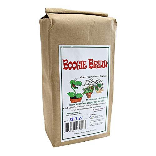Boogie Brew Compost Tea 'Heavy Harvest' 2 Part Formula 3 Pounds Makes 50 Gallons
