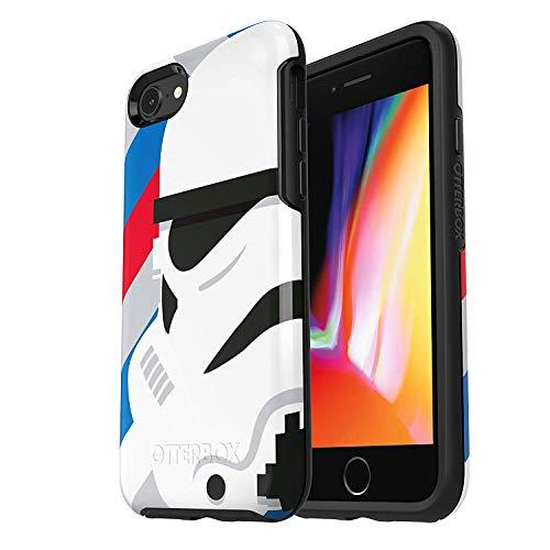 OtterBox 77-57773 custodia serie Symmetry antichoc, fine ed elegante per Apple iPhone 8+/7+ - Stormtrooper