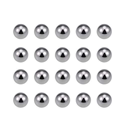 uxcell 5mm Carbon Steel Bearing Balls Precision Balls 100pcs
