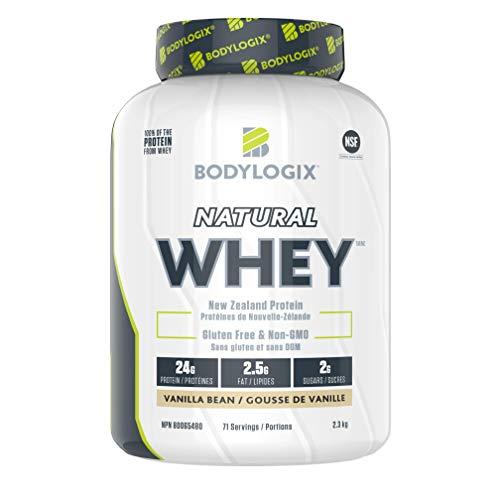 Bodylogix Natural Whey, Vanilla Bean, 2.3 kg