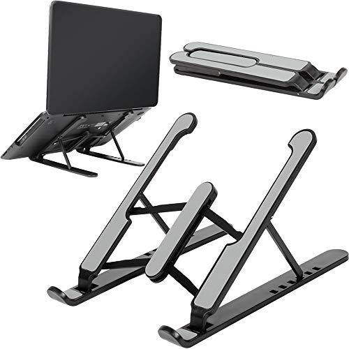 Soporte Portátil,Soporte Ventilado Ordenador Portátil Soporte para portátil súper ligero y ergonómicamente ajustable,Plegable y...