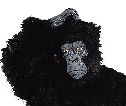 Gorilla Mask (Black;One Size)