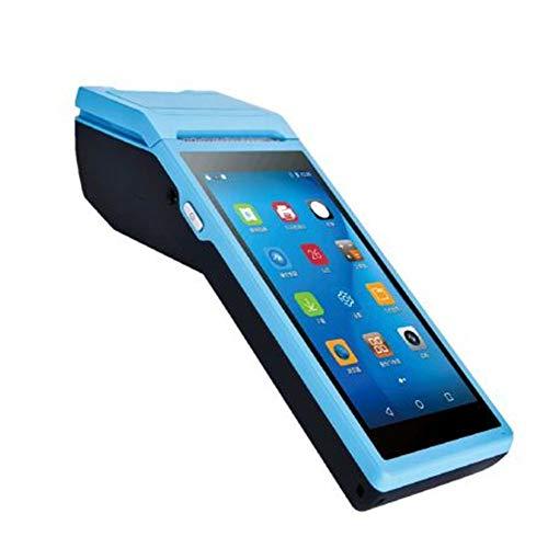 HLKJ Imprimante PDA, 5.5 Pouces Tactile Portable De Numérisation Et d'impression Machine Terminal PDA BT/WiFi/USB OTG / 3G Communication / 1D Numérisation avec Caméra,3GPOSprinter