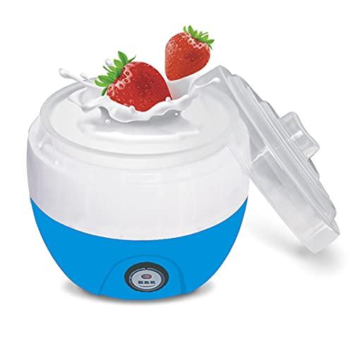 WWWL Yogurtera Yogurt Maker Machine Electric Yoghurt DIY Herramienta de plástico Contenedor de plástico Aparato de Cocina (Color : Blue)