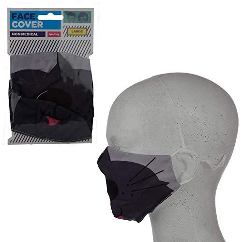 Puckator Wiederverwendbare Gesichtsbedeckung, nicht medizinisch, Größe L (Cutiemals Hund)
