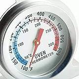 Termômetro Analógico Excelente Para Forno 300° Lenha Gás Top