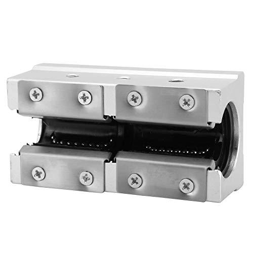 Stronerliou SBR20LUU 20 mm Rodamiento de bolas de movimiento lineal Bloque deslizante Piezas de enrutador CNC