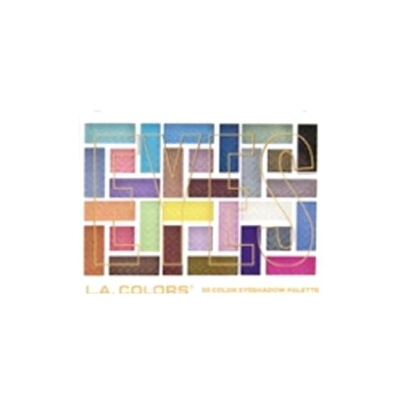 ライドソビエト一時解雇するL.A. COLORS 30 Color Eyeshadow Palette - In The Moment (並行輸入品)