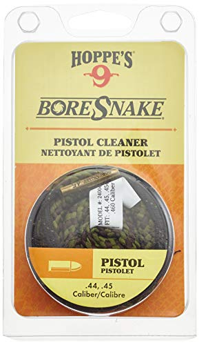 Hoppe's Boresnake .357, 9mm, .380, .38 Caliber Pistol and Revolver, Clam E/F