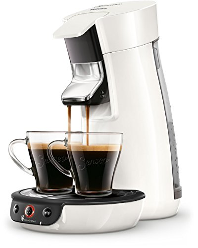 Senseo Viva Caf? HD6563/00 Freestanding Fully-auto Pod coffee machine 0.9L 6cups White coffee maker - Senseo Viva Caf? HD6563/00, Freestanding, Pod coffee machine, 0.9 L, Coffee pod, 1450 W, White