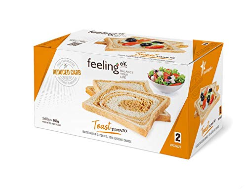 Fooditalia - FeelingOK Optimize - Protein Toast-Zwieback Tomato - 160g