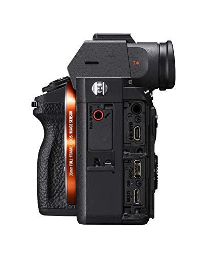 Sony Alpha 7 III   Spiegellose Vollformat-Kamera ( Schneller 0,02s AF, optische 5-Achsen-Bildstabilisierung im Gehäuse, 4K HLG Videoaufnahmen, große Batteriekapazität), Schwarz