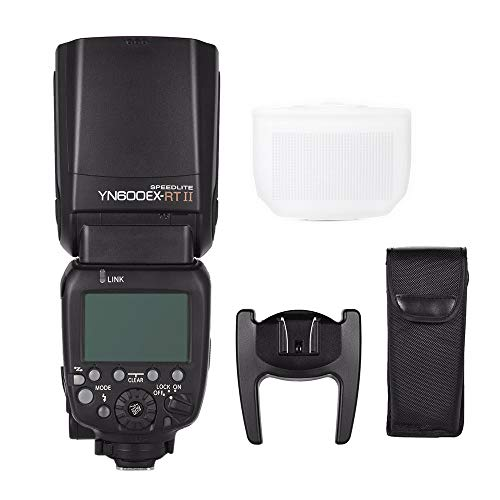 YONGNUO Updated YN600EX-RT II Wireless Flash Speedlite with Optical Master and TTL HSS for...
