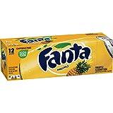 Fanta Refresco con Gas, Sabor Piña - Paquete de 12 x 355 ml - Total: 4260 ml