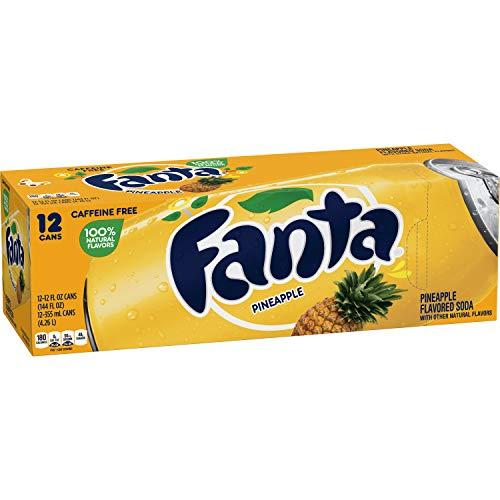 Fanta Pineapple 12oz (355mL) - 12pack inkl. 3,00 Euro DPG-PFAND