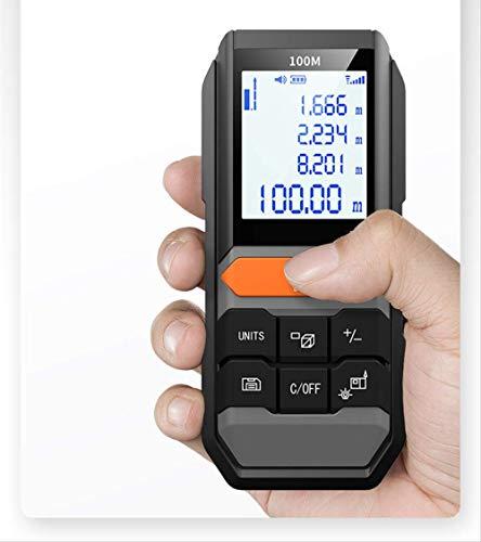 Handgreep Laser Rangefinder 40m/60m/80m/100m/120m Digitale Laser Afstandsmeter Elektrische Niveau Tape Laser Afstandsmeter
