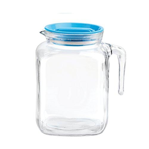 Caraffa Brocca in vetro TEMPERATO conservare frigorifero freezer Bormioli Frigoverre Caraffa 2 Lt