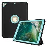 Aidashine Étui magnétique Intelligent en Cuir Hybride avec Fonction Support pour iPad Mini 1/2/3...