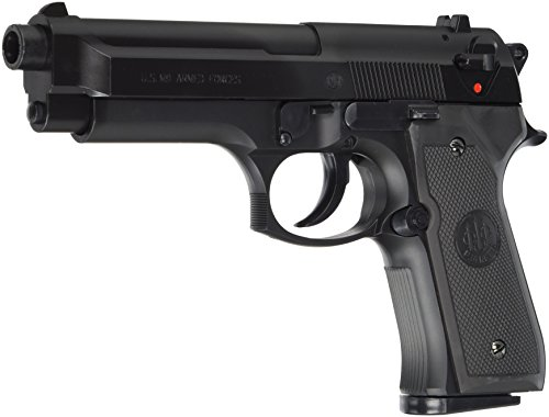 BERETTA M9 World Defender - Pistola Softair < 0,5 Joule, Taglia Unica, Colore: Nero