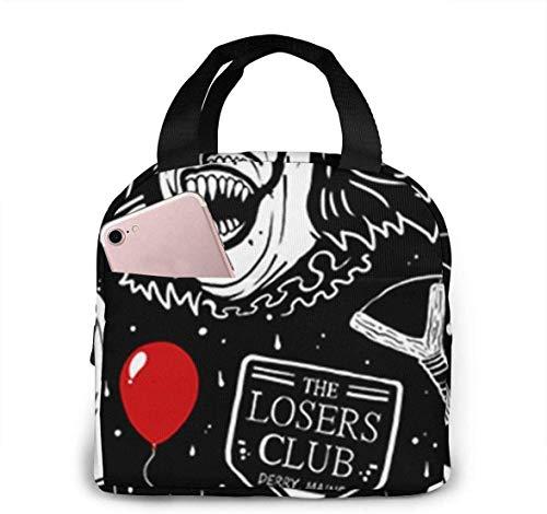 Happy Clown Ballon Krawatte Clipart Smoking Lunch Tote Bag Isolierte Weiche Kühltasche Picknicktasche für Outdoor, Camping oder Spiele