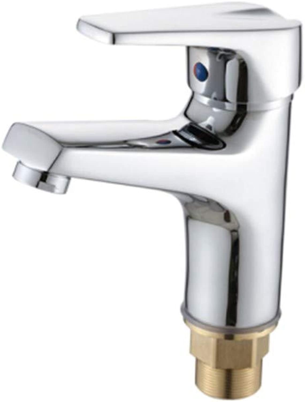 Counter Drinking Designer Archcopper Faucet Hot and Cold Basin Faucet Washbasin Faucet Copper Basin Faucet