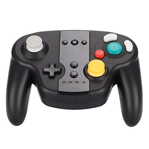 Manette de Jeu Bluetooth, Gamepads Bluetooth sans Fil avec NFC, Capteur de Mouvement Gamepad Rechargeable de la Console de Jeu Support 5H Playtime pour Switch, Ordinateurs Windows.(Noir)
